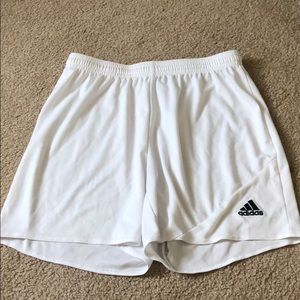 adidas Shorts - White adidas soccer shorts